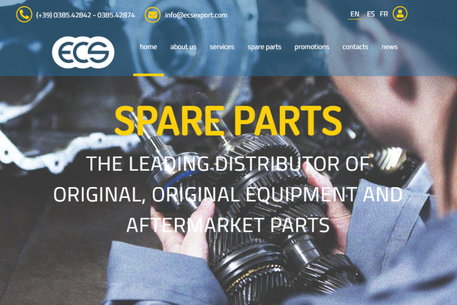 New website - ECS Spare Parts